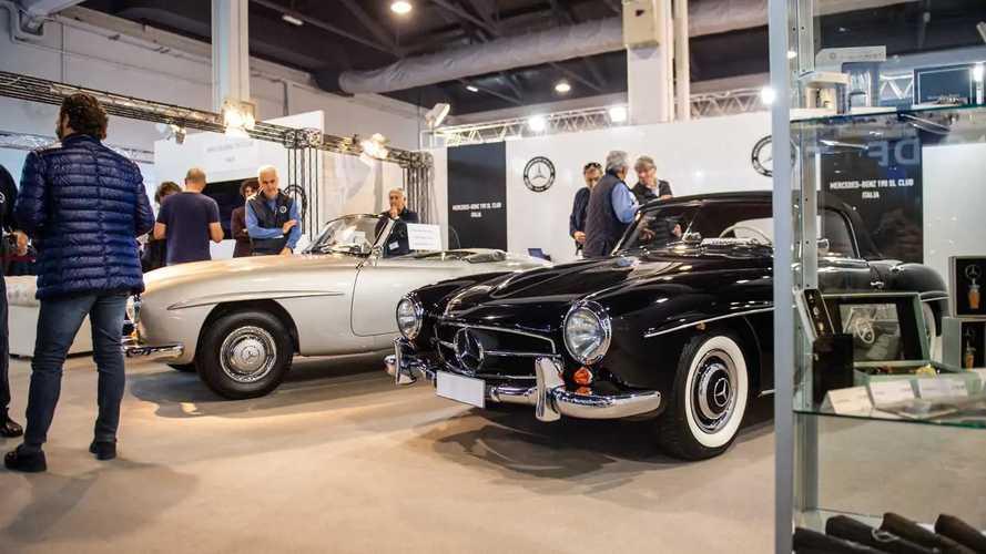 Mercedes ad Auto e Moto d'Epoca 2019