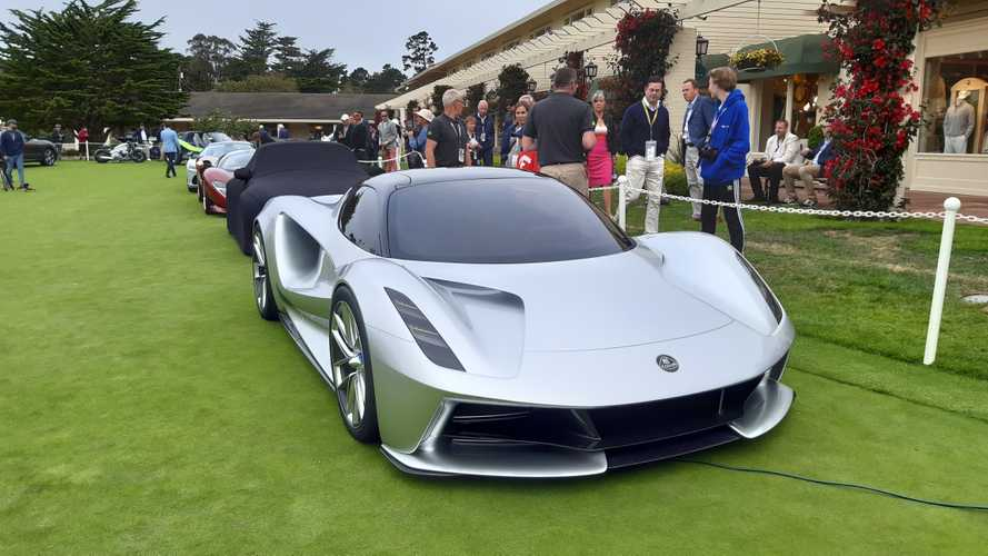 Lotus Evija Makes Public Debut At Monterey Car Week: Videos