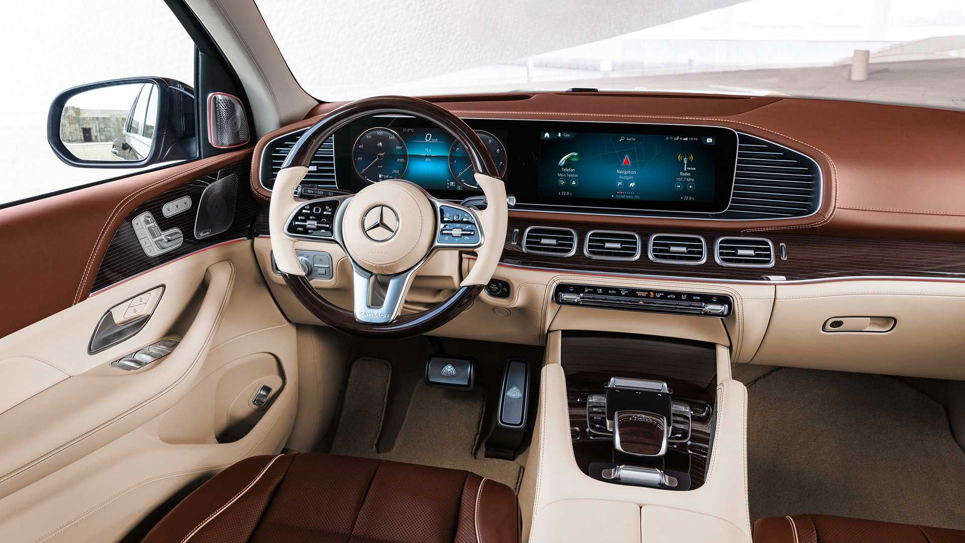Mercedes-Maybach GLS салон