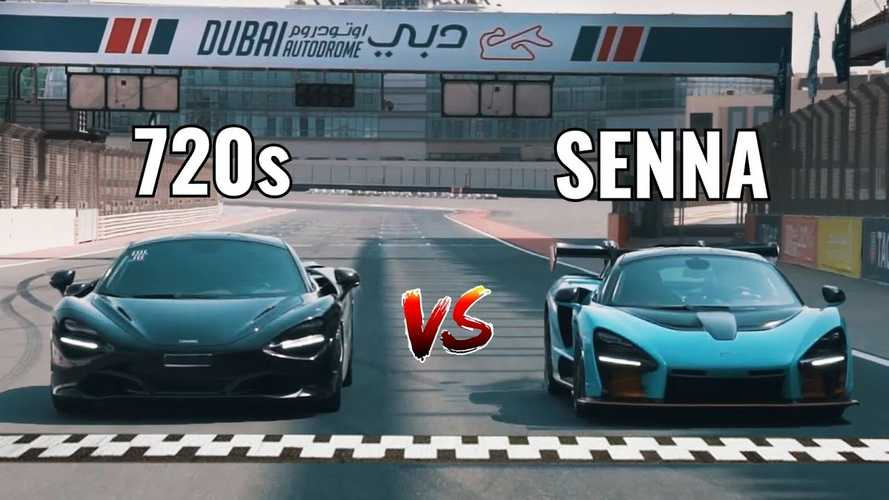 Nico Rosberg Drag Races McLaren Senna Against 720S
