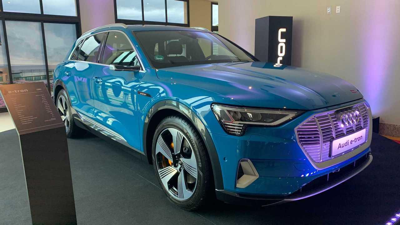 Audi e-tron - Fotos ao vivo