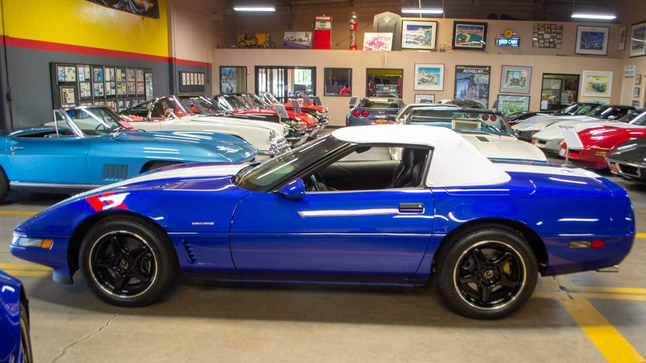 Rare 1996 Chevrolet Corvette Grand Sport Convertible Up For Sale Motorious
