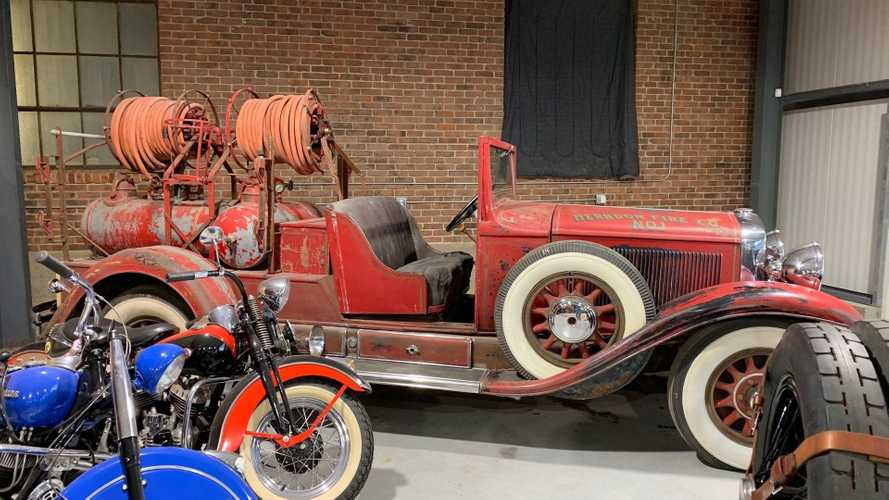 Add Some Flare With A 1930 Cadillac 353 Fire Truck