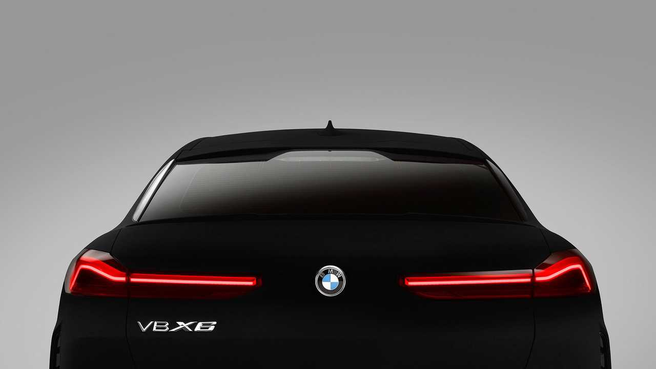 BMW X6, Vantablack (2019)