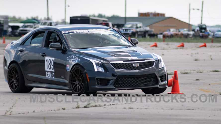 Cadillac ATS-V Built By GM Performance Driving Team Boasts 500 HP