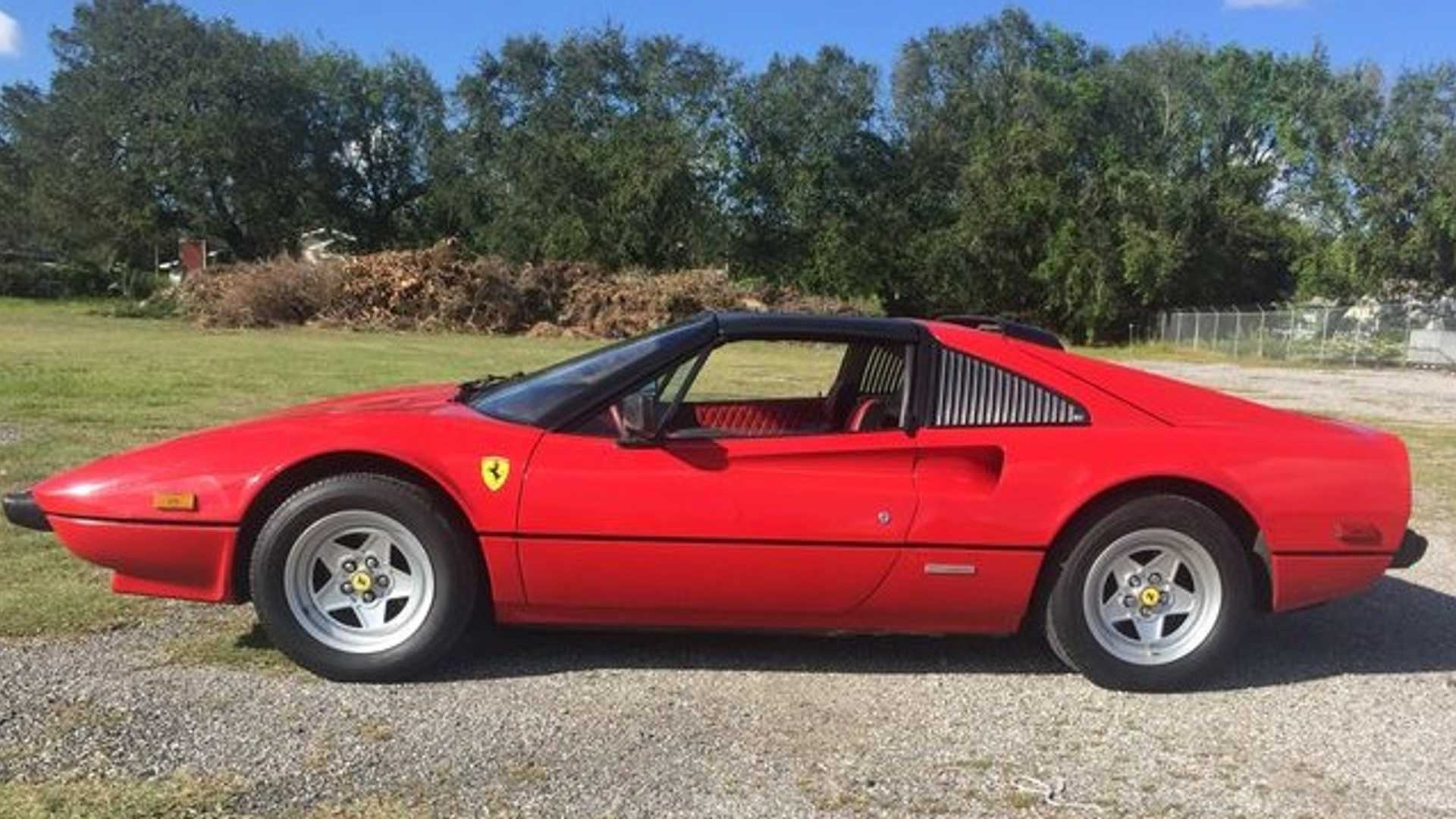"[""Bid On This 1981 Ferrari 308 GTSi Full Of Retro Awesomeness""]"