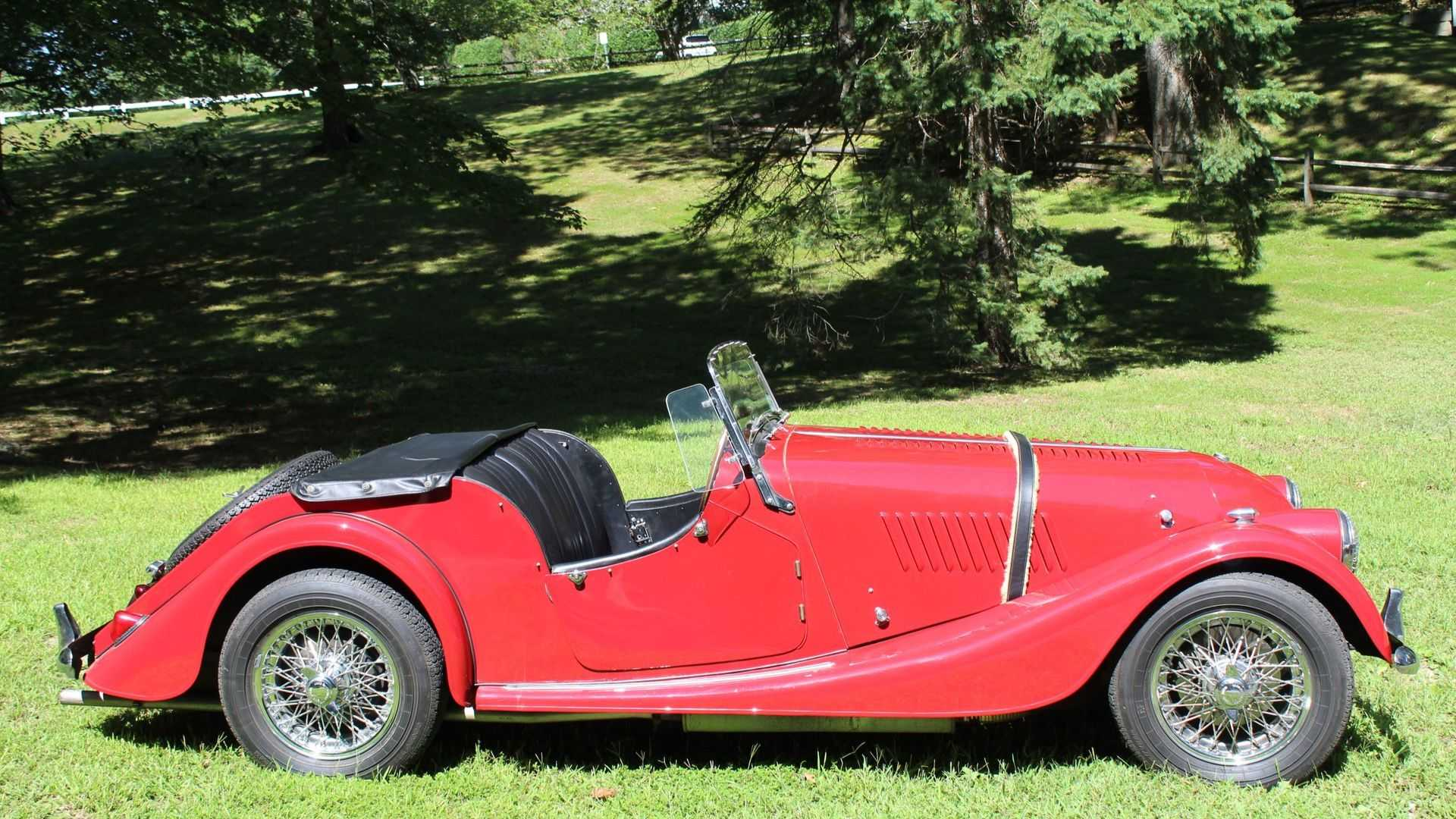 "[""Bid On A Beautiful 1961 Morgan Plus 4""]"