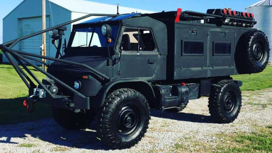 Let Nothing Stand In Your Way Using A 1962 Mercedes-Benz Unimog