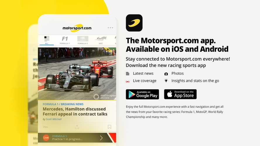 The Fastest Racing News, Direct To Your Device. Download The All-New Motorsport.com App!