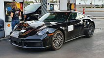 Porsche 911 Turbo Spy Shots