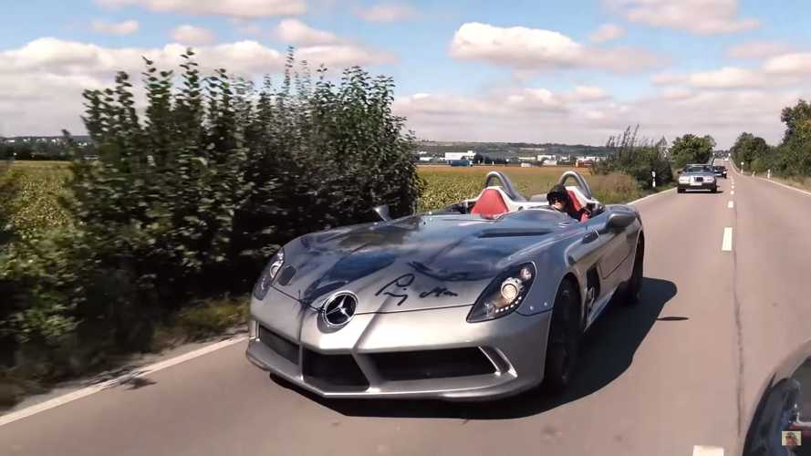 El Mercedes-Benz SLR McLaren Stirling Moss se ve brutal en video