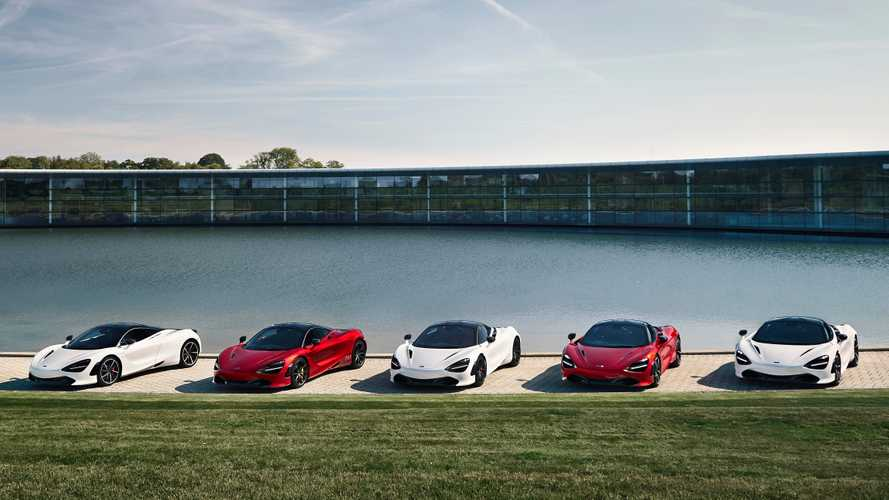 McLaren unveils new F1 track-inspired 720S creations
