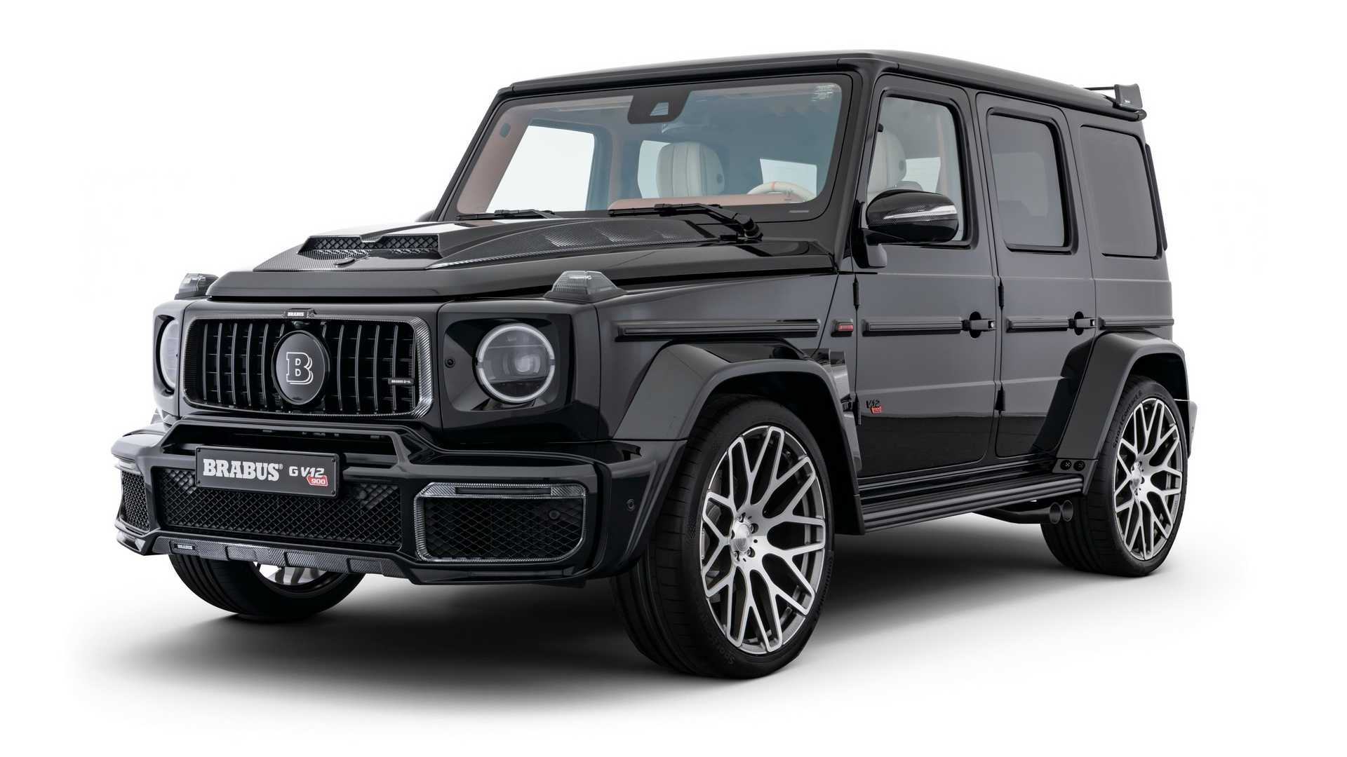 Mercedes G-Class gets V12 engine from Brabus with 888 bhp