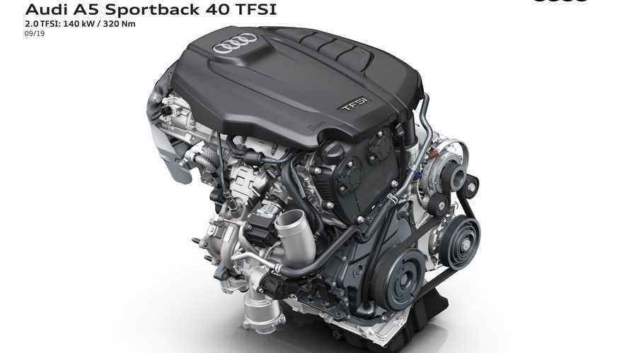 Audi A5/S5 Sportback restyling (2019)