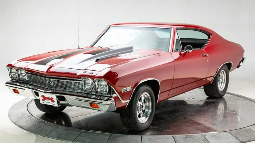 Potent 1968 Chevy Chevelle Is Ready To Provide Right-Foot Therapy