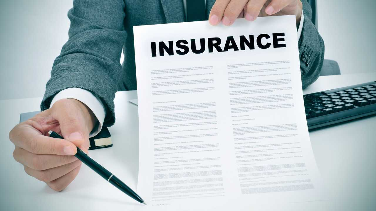 Signing an insurance policy