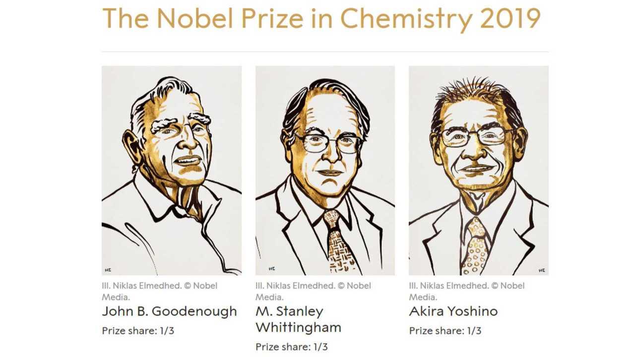 The Nobel Prize in Chemistry 2019 - John B. Goodenough, M. Stanley Whittingham and Akira Yoshino