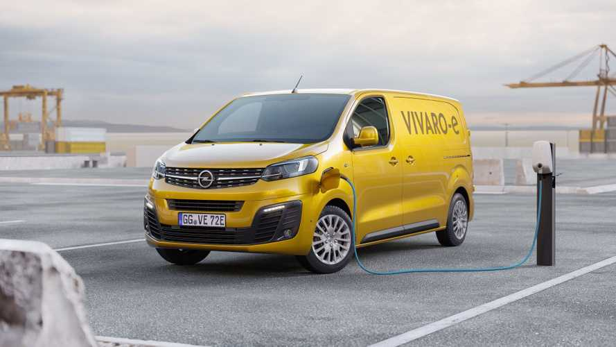 Opel/Vauxhall Light Commercial EVs To Mirror Peugeot/Citroën