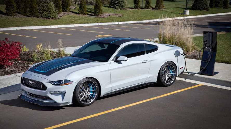 Ford Mustang Lithium mit über 900 PS starkem Elektroantrieb