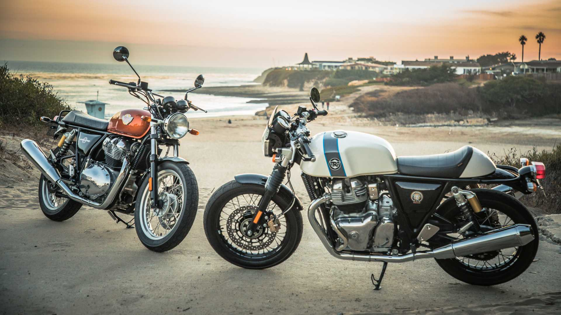 Royal Enfield Comeca A Vender As Twins Interceptor E Continental Gt