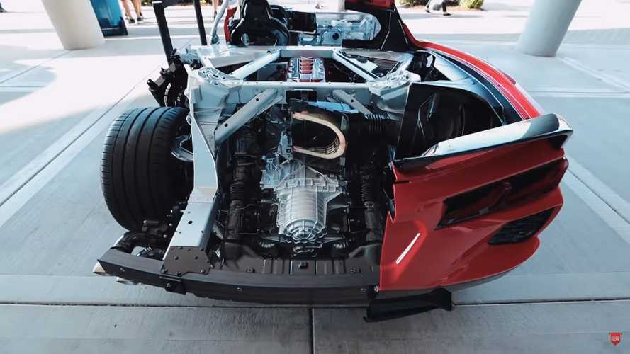 2020 Chevy Corvette Cutaway Walkaround Is A Gearhead Dream Come True