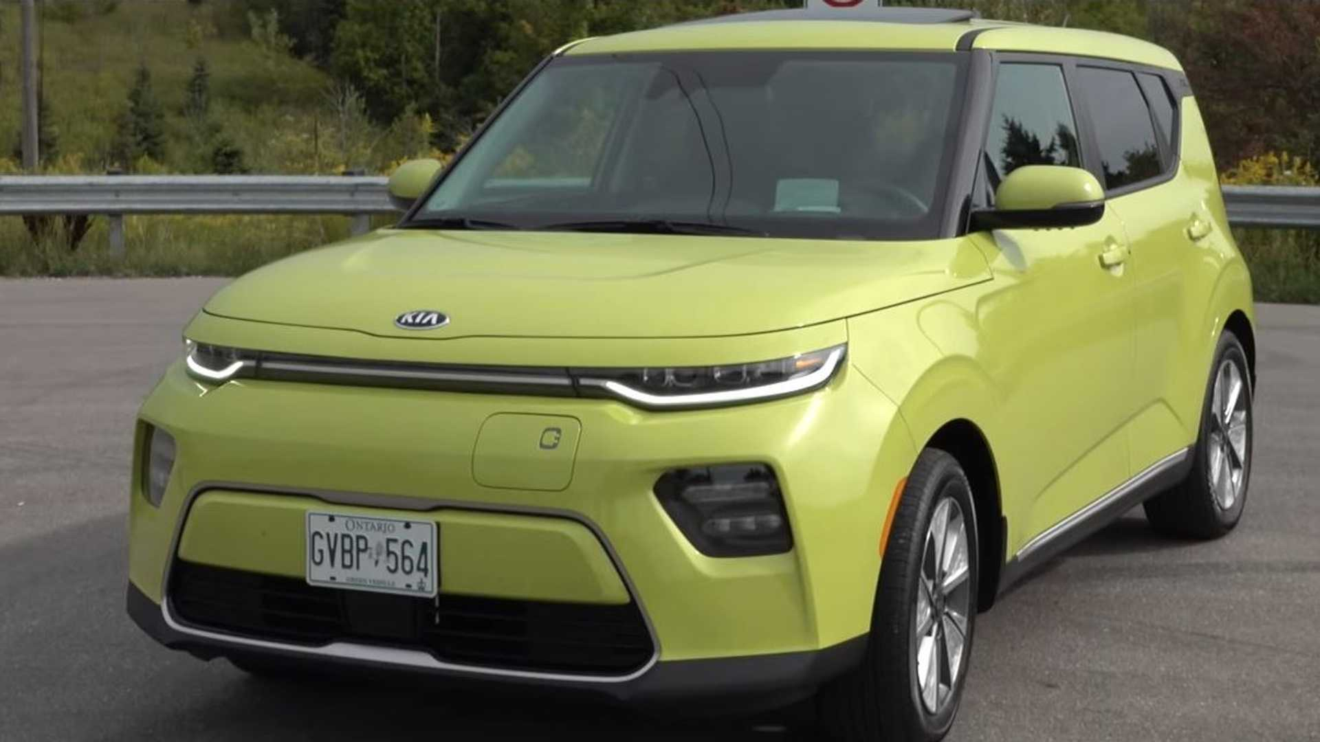 All-New 64-kWh 2020 Kia Soul EV Detailed Review: Video