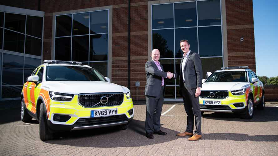 Highways England invests in Volvo XC40 fleet