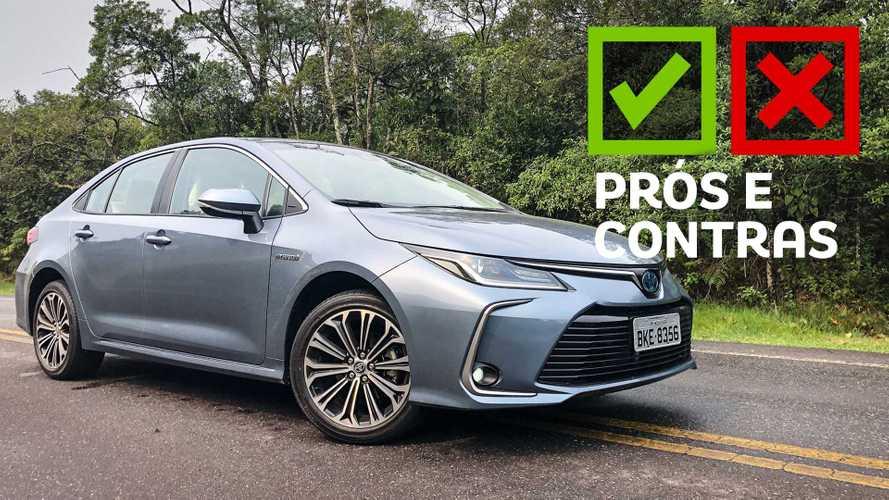 Prós e Contras: Toyota Corolla Altis Hybrid 2020