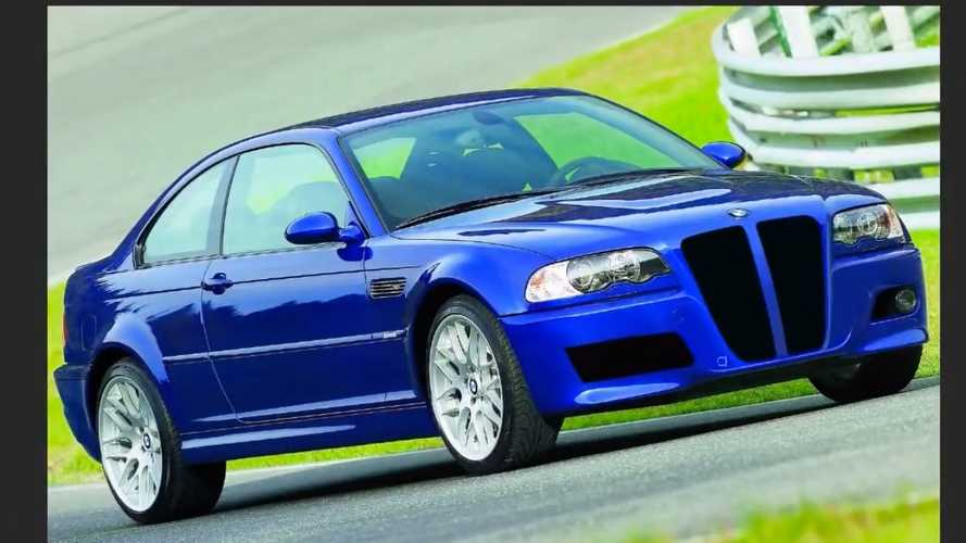 BMW M3 E46 With Vertical Grille Is A Bit Too Much
