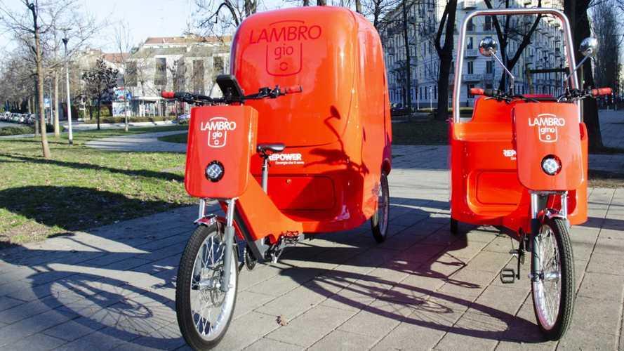 Repower a EICMA con le Cargo Bike elettriche Lambro (Gio e Gino)