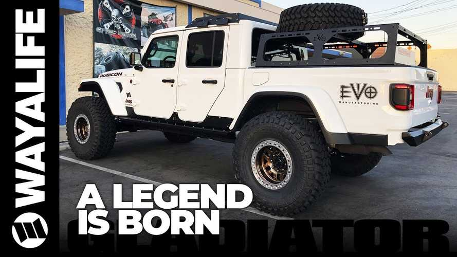 Jeep Gladiator Given More Off-Road Chops With Overlander Conversion