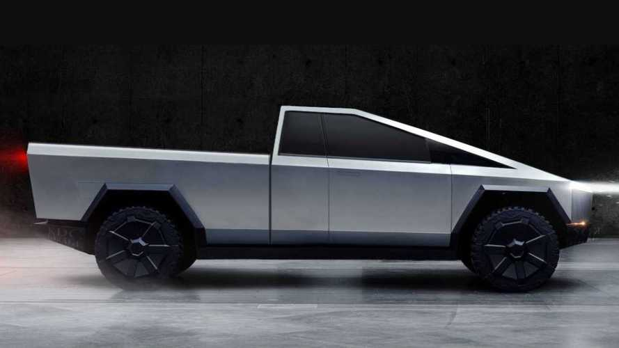 Tesla Cybertruck rendered as pickup, panel van, estate and more
