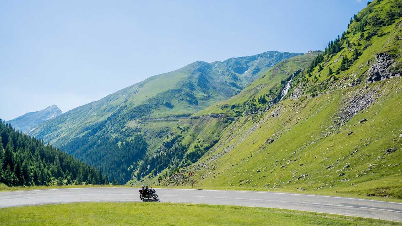 Motorcycle Mountains Travel