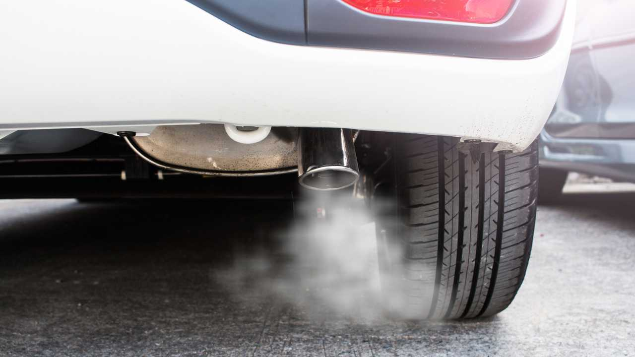 Exhaust pipe emissions