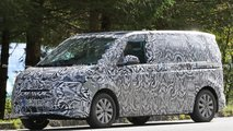vw transporter t7 spied production