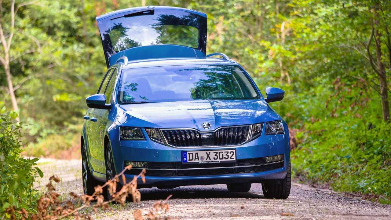 Skoda Octavia Combi mit CNG-Antrieb (2019) im Dauertest