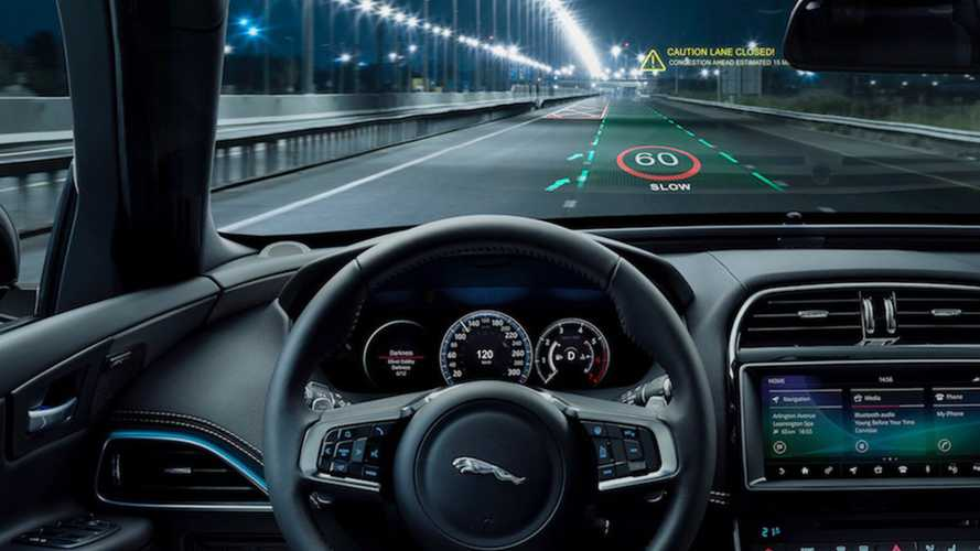 Jaguar Land Rover is developing next-gen 3D head-up display technology