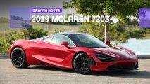 2019 mclaren 720s driving notes
