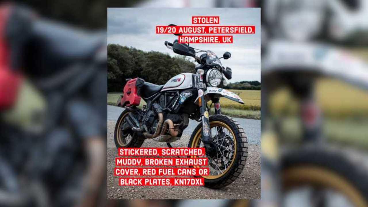 Henry Crew's World-Circumnavigating Bike Stolen!