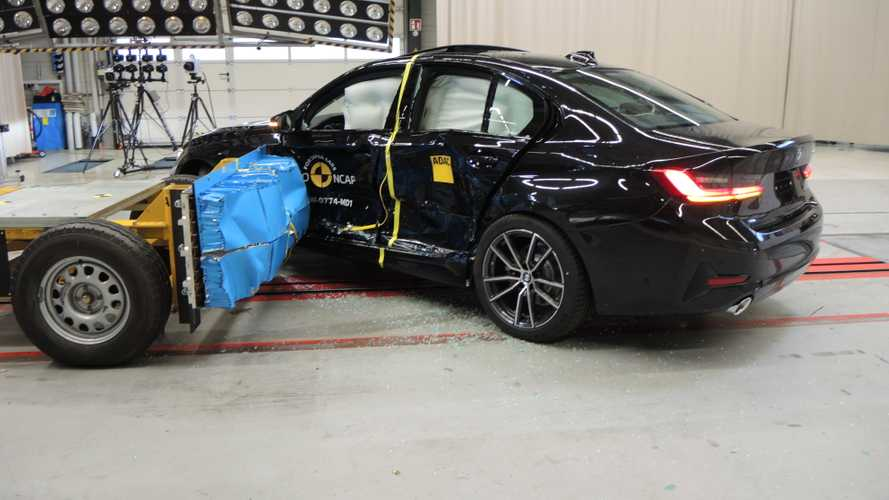 BMW Série 3 (G20) conquista 5 estrelas em crash test do Euro NCAP
