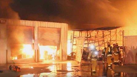 Fire destroys classic porsche cars and parts worth 3 million