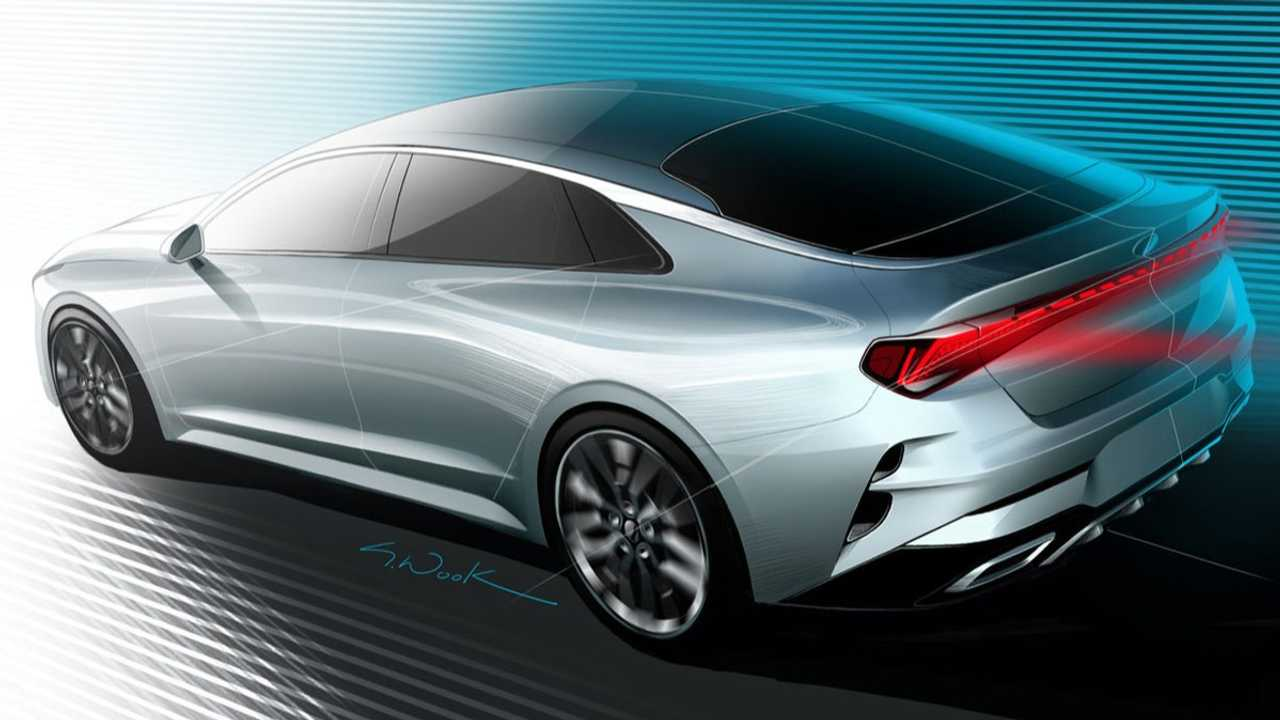 Kia Optima Rear Three-Quarters Teaser