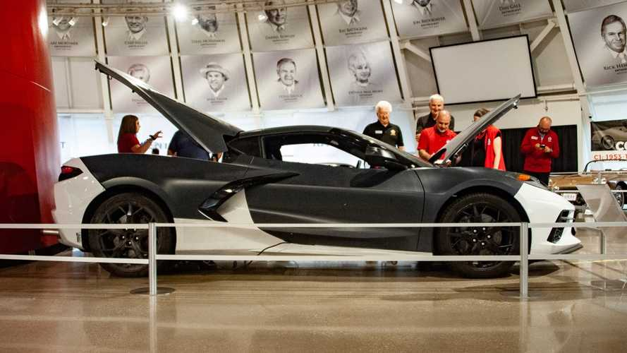 National Corvette Museum Takes Delivery Of C8 Prototype