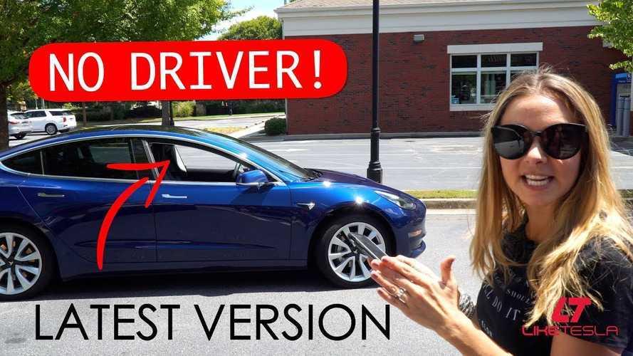 """Like Tesla"" Shows Tesla Smart Summon In Action On Model 3: Video"