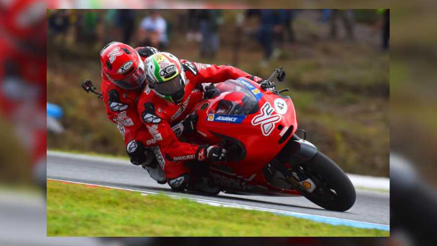 Win A Chance To Ride Pillion On A MotoGP Ducati