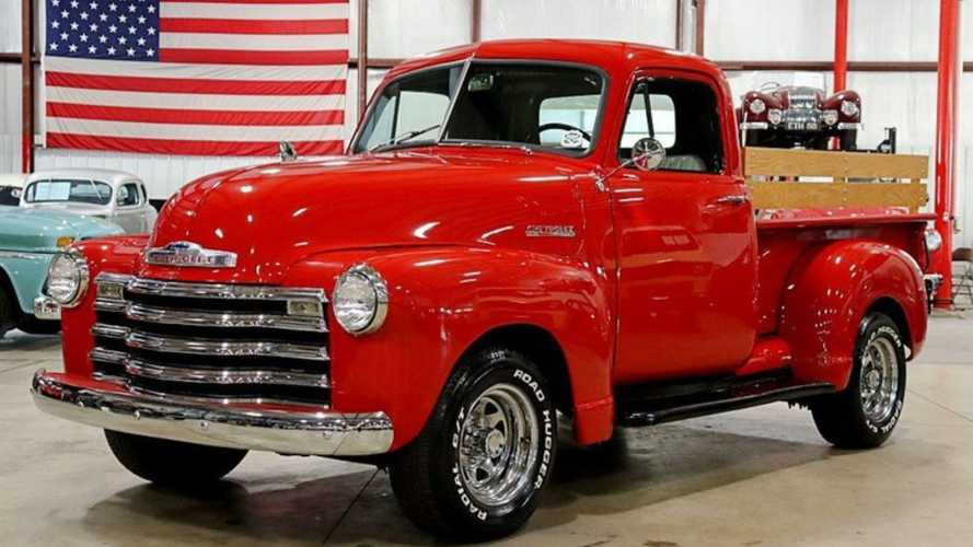 Steal The Scene With A Victory Red 1953 Chevy 3100