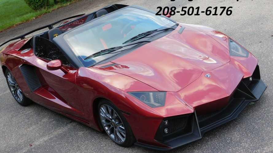 ¿Qué te parece esta réplica del Lamborghini Aventador?