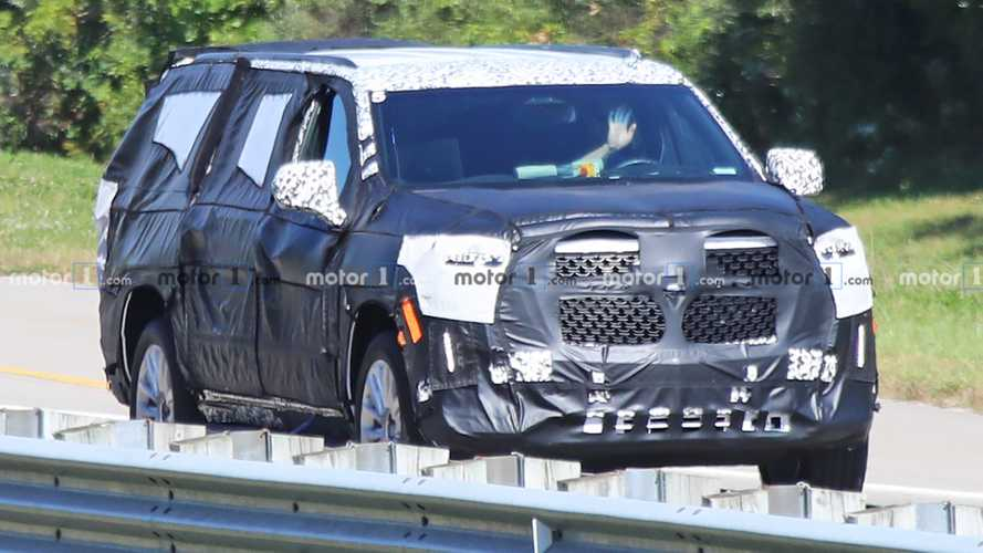2021 Cadillac Escalade Reveals Massive Grille In New Spy Photos