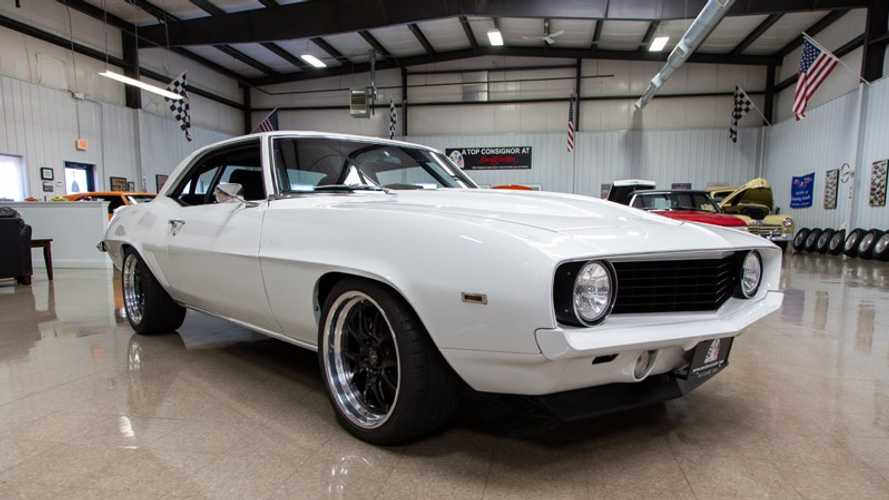 """Custom 1969 Chevy Camaro """"Tri-Tip"""" To Be Auctioned Without Reserve During SEMA"""