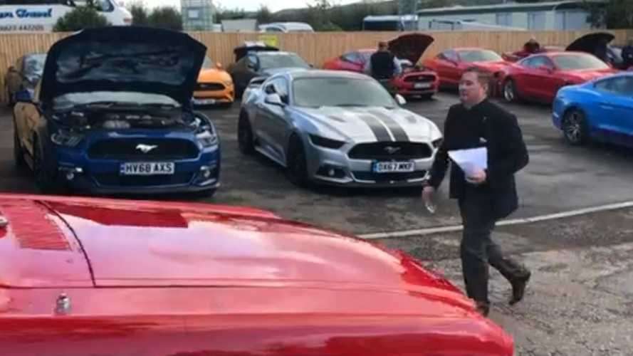 British Muscle Car Owners Honor Fallen Enthusiast